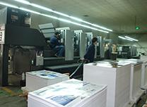 台历印刷车间